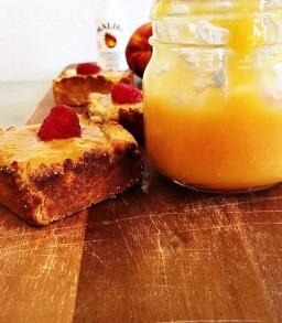 Malibu Rum Peach&Mango tarts (vegan)