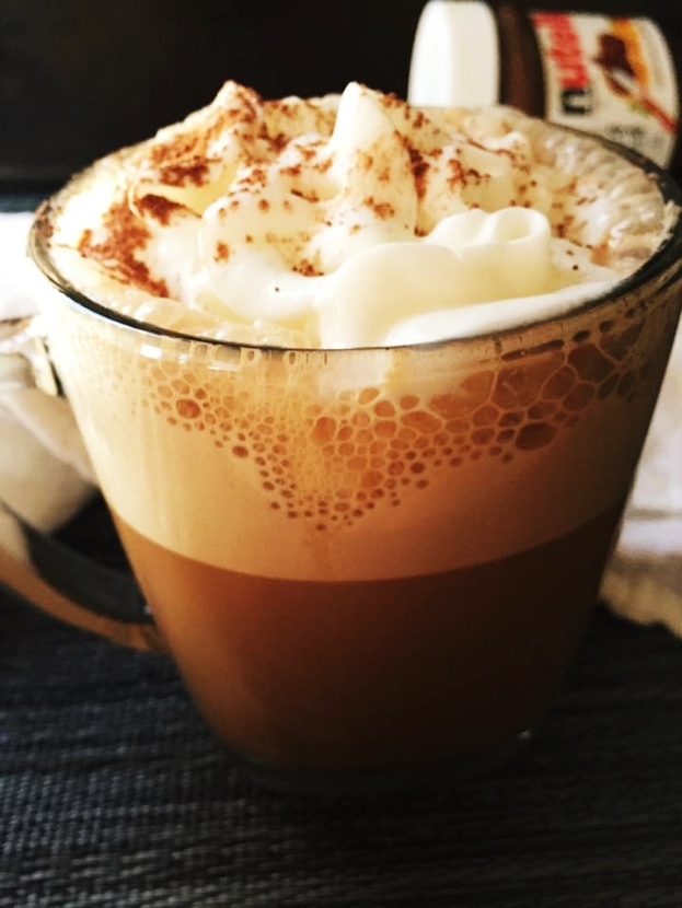 nutella coffee latte