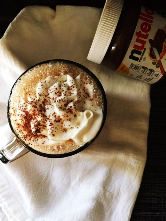 nutella latte