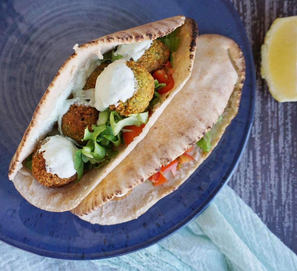 sanwich falafel