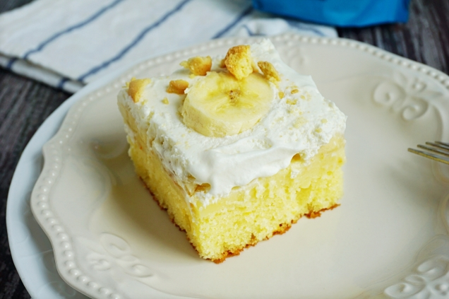 banana cream cake gf
