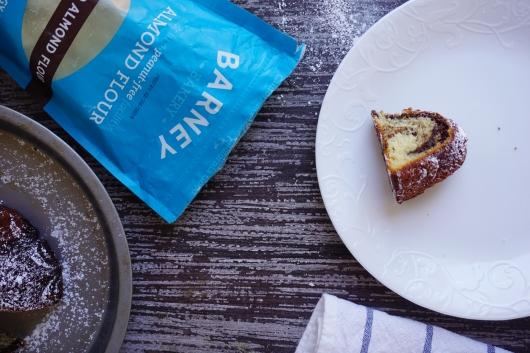marble almond cake