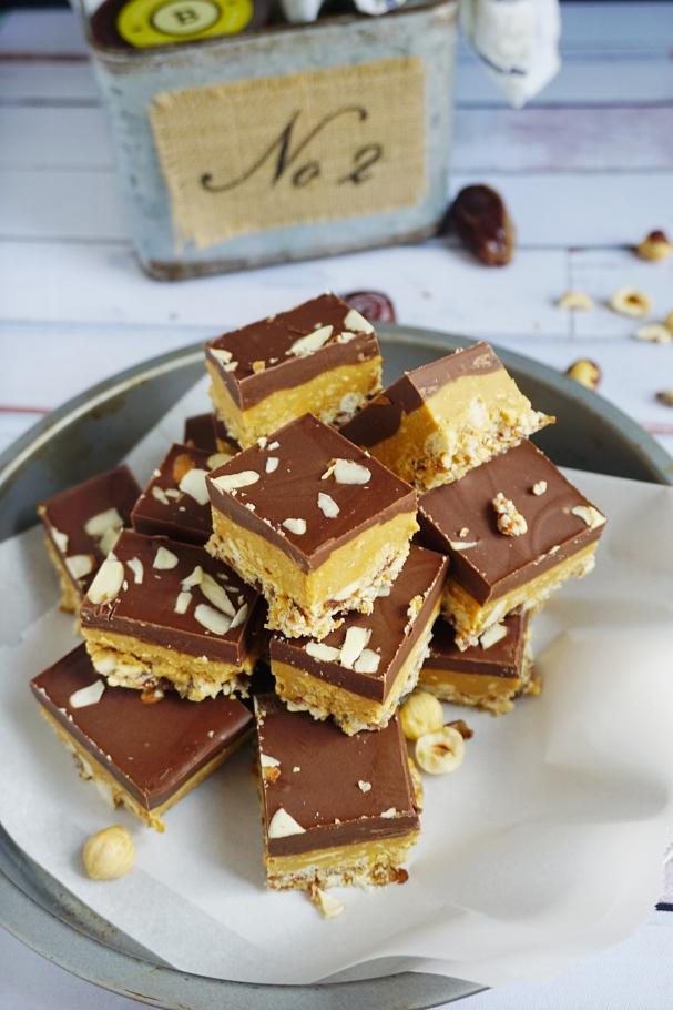 almond butter bars