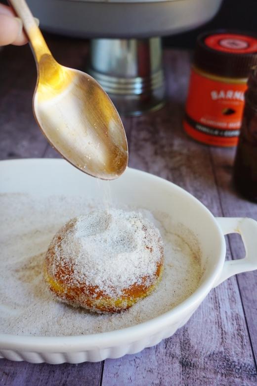 sugar pumpkin donut