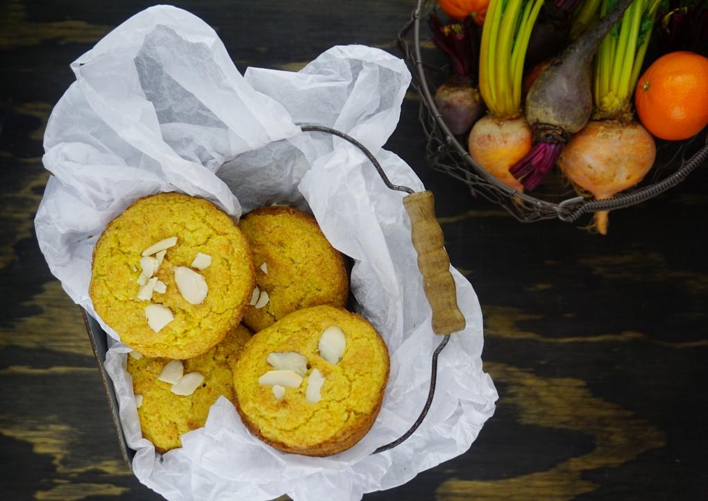 pan beet muffins
